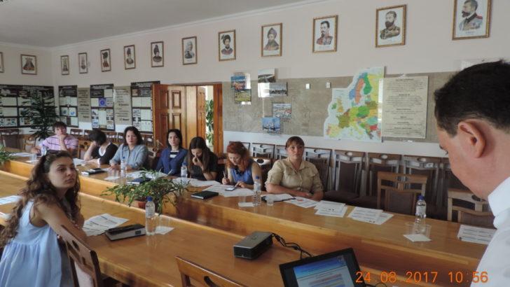 Seminar de informare pentru tinerii antreprenori din regiunea Orhei