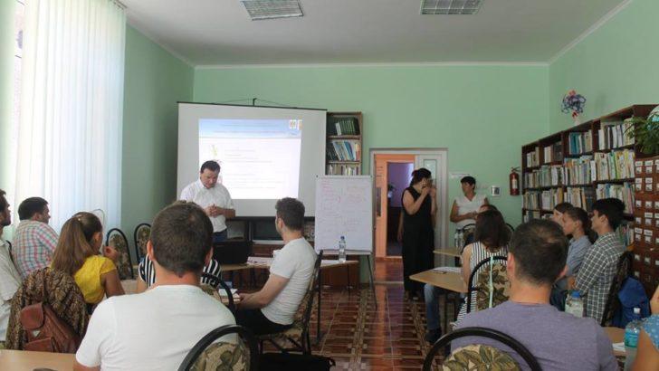 Seminar de informare pentru tinerii antreprenori din raionul Telenești