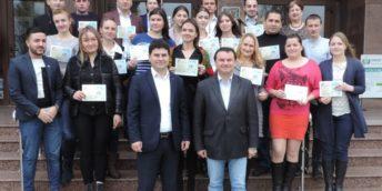 Decernarea certificatelor pentru participare Programul Național de Abilitare Economică a Tinerilor