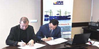 """Filiala Orhei a CCI a RM și I.P ,,Incubatorul de Afaceri din Rezina"""" au semnat un Acord de cooperare"""