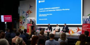 USAID a realizat cea mai cuprinzătoare evaluare a coridoarelor comerciale ale Moldovei